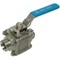 Three Piece Bolted/In-Line Maintenance 2000PSI STAINLESS STEEL BALL VALVES